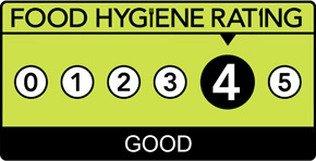 Food Hygiene Rating: 4